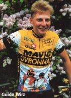 7298 CP  Cyclisme Guido Wirz - Cycling