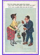 """23448  CPA  Donald Mac Gill ; """" C'est Vous  , La Petite Fille Avec Qui J'ai Joué ?  """" - Mc Gill, Donald"""