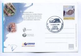 CONVENIO ENTRE RED FEDERAL CONTROL PUBLICO Y TRIBUNALES DE CUENTAS ARG - ARGENTINE 2006 FDC ENTIER ENTERO ENTIRE - LILHU - Interi Postali