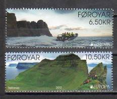 Faroe - Foroyar 2012 / Europa - Visit / 2 Val - Europa-CEPT