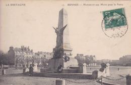 [35] Ille Et Vilaine > Rennes Monument Aux Morts Pour La Patrie - Rennes