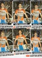 7300 CP  Cyclisme Lot 12 Cartes Team Trident 1994 - Cyclisme
