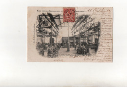 Atelier Des Machines-Outils..Ecole Nationale Professionnelle D'Armentières En 1903...Voir Scan. - Armentieres