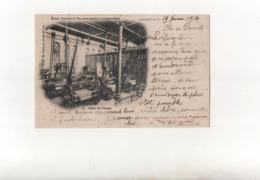 Atelier De Tissage..Ecole Nationale Professionnelle D'Armentières En 1904...Voir Scan. - Armentieres