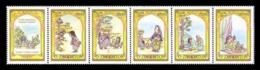Uzbekistan 2019 Mih. 1386/90 Uzbek Folk Tale Zumrad And Qimmat MNH ** - Uzbekistan
