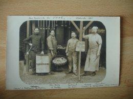 Guerre 14.18 Carte Photo Militaire  H O E 3 Saint Dizier Avec Soldat Identifier  Cuisine - Guerre 1914-18