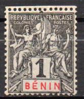 Col17  Colonie Benin N° 33 Neuf X MH  Cote 3,00€ - Bénin (1892-1894)