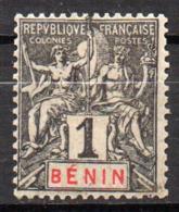 Col17  Colonie Benin N° 33 Neuf X MH  Cote 3,00€ - Unused Stamps