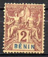 Col17  Colonie Benin N° 34 Neuf X MH  Cote 5,00€ - Unused Stamps