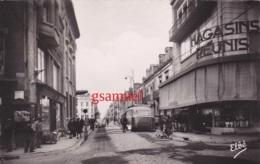 D 71 - Montceau Les Mines Rue Carnot Magasins Réunis – Bus Lyon Mâcon, Le Creusot - Pas Courante - Montceau Les Mines