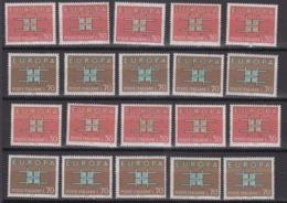 Europa Cept 1963 Italy 2v (10x) ** Mnh (44939) - Europa-CEPT