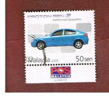MALESIA (MALAYSIA)  -  SG 1252 -   2004  AUTO:PROTON GEN 2 (WITH LABEL)   -  USED ° - Malesia (1964-...)