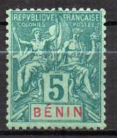 Col17  Colonie Benin N° 36 Neuf X MH  Cote 9,00€ - Unused Stamps