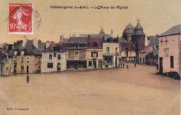 CPA Chateaugiron (I.-et-V.) - La Place De L'Église - Châteaugiron