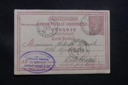 TURQUIE - Entier Postal De Constantinople Pour Andrinople En 1893 - L 43534 - Cartas