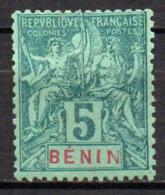 Col17  Colonie Benin N° 36 Neuf (X) No Gum  Cote 9,00€ - Unused Stamps