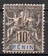 Col17  Colonie Benin N° 37 Neuf X MH  Cote 9,00€ - Unused Stamps