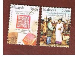 MALESIA (MALAYSIA)  -  SG 1276.1278  -   2004  MALAYSIA-CHINA RELATIONS   -  USED ° - Malesia (1964-...)