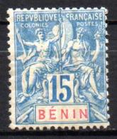 Col17  Colonie Benin N° 38 Neuf X MH  Cote 20,00€ - Unused Stamps