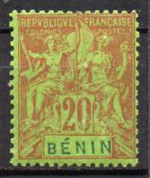 Col17  Colonie Benin N° 39 Neuf X MH  Cote 15,00€ - Unused Stamps