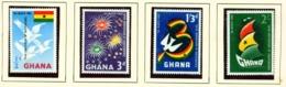 GHANA  -  1960 Independence Set Unmounted/Never Hinged Mint - Ghana (1957-...)