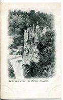 Belgique - Vallée De La Lesse - Le Château De Walain - Gravure - Inscription Non Gommable Au Verso - Walhain