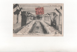 Salle Du Banquet Offert Au Ministre De La Guerre..Ecole Nationale Professionnelle D'Armentières En 1903...Voir Scan. - Armentieres