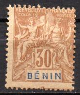 Col17  Colonie Benin N° 41 Neuf X MH  Cote 15,00€ - Unused Stamps