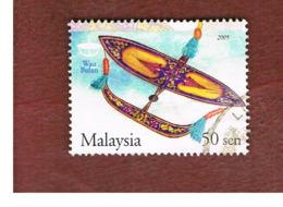 MALESIA (MALAYSIA)  -  SG 1301a  -   2004  TRADITIONAL KITES: MOON  -  USED ° - Malesia (1964-...)