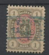 Finlande (1885) N 25 (o) - 1856-1917 Russian Government