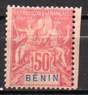 Col17  Colonie Benin N° 43 Neuf X MH  Cote 40,00€ - Unused Stamps