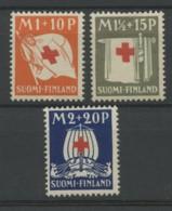 Finlande (1930) N 156 A 158 (Luxe) - Finlande