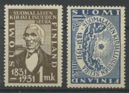 Finlande (1931) N 159 A 160 (charniere) - Finlande