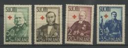 Finlande (1938) N 196 A 199 (LUxe) (C23 E5) - Finlande