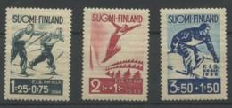 Finlande (1938) N 200 A 202 (Luxe) - Finlande