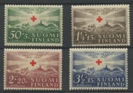 Finlande (1939) N 209 A 212 (Luxe) - Finlande