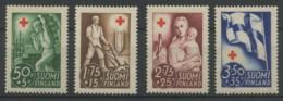 Finlande (1941) N 225 A 228 (Luxe) - Finlande