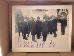 RARE PHOTO MONACO Prince ALBERT I Inauguration Des Nouveaux Thermes 1908 - Personnes Identifiées