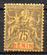 Col17  Colonie Benin N° 44 Neuf X MH  Cote 40,00€ - Unused Stamps