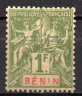 Col17  Colonie Benin N° 45 Neuf X MH  Cote 10,00€ - Unused Stamps