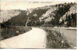 Belgique - Freyer - Route De Waulsert - Henri Georges Editeur Nº 10 - Ecrite, Timbrée - 6558 - Belgique