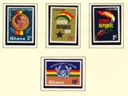 GHANA  -  1960 Republic Day Set Unmounted/Never Hinged Mint - Ghana (1957-...)