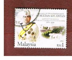 MALESIA KELANTAN (MALAYSIA)  -  SG 1191  -   2004 SUTAN ISMAIL PETRA -  USED ° - Malesia (1964-...)