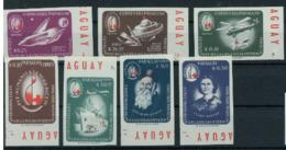 Paraguay 1963 Nobel  Red Cross Croix Rouge Imperf MNH - Nobel Prize Laureates