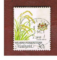 MALESIA WILAYAH PERSEKUTUAN (MALAYSIA)  -  SG K21  -   1986  RICE -  USED ° - Malesia (1964-...)
