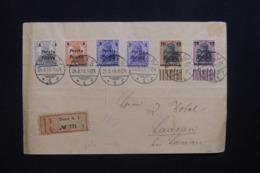 POLOGNE - Enveloppe En Recommandé De Posen En 1919 Pour Laasan, Affranchissement Plaisant - L 43538 - ....-1919 Provisional Government