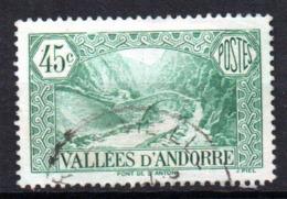 Col17  Andorre N° 63 Oblitéré  Cote 5,50€ - Oblitérés