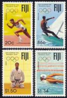 Olympics 1992 - Judo - FIJI - Set MNH - Summer 1992: Barcelona