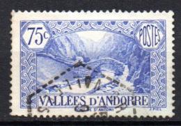 Col17  Andorre N° 70 Oblitéré  Cote 5,50€ - Oblitérés