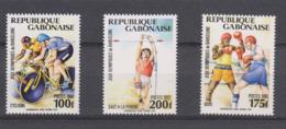 Olympics 1992 - Cycling - GABON - Set MNH - Summer 1992: Barcelona